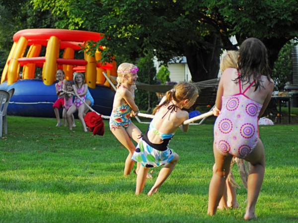 Keeping pest away from outdoor parties