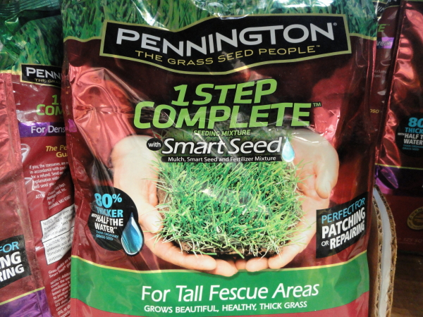 Pennington 1 step complete grass seeds
