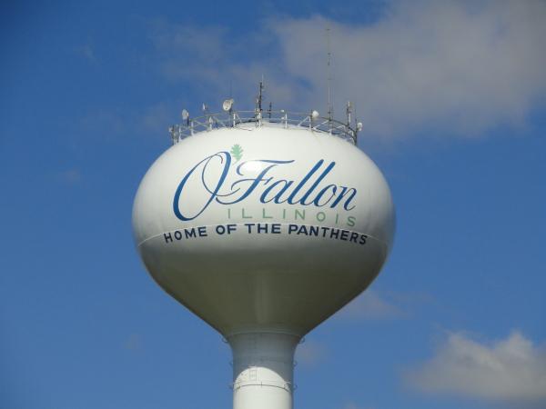 O'Fallon IL water tower