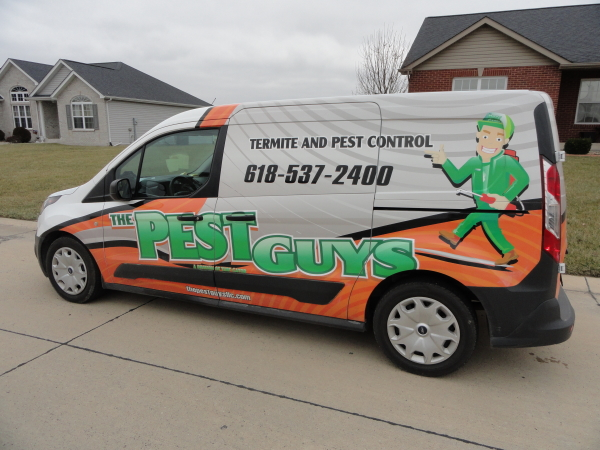 The Pest Guys Service Van