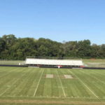 Commercial Football Field Mowing